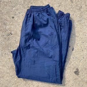 Vintage Nike Navy Blue Windbreaker Sweatpants XXL